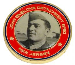 New Jersey Printed Medal