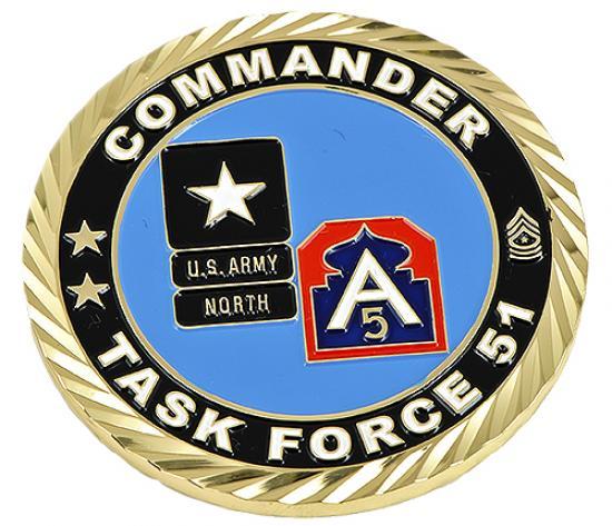U.S. Army North Challenge Coin
