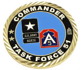 U.S. Army North Challenge Coin