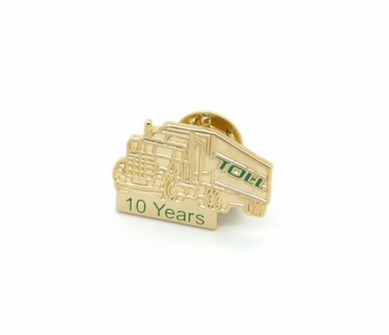Custom Gold Lapel Pins