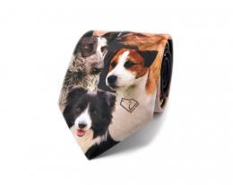 Digital bedruckte Krawatten